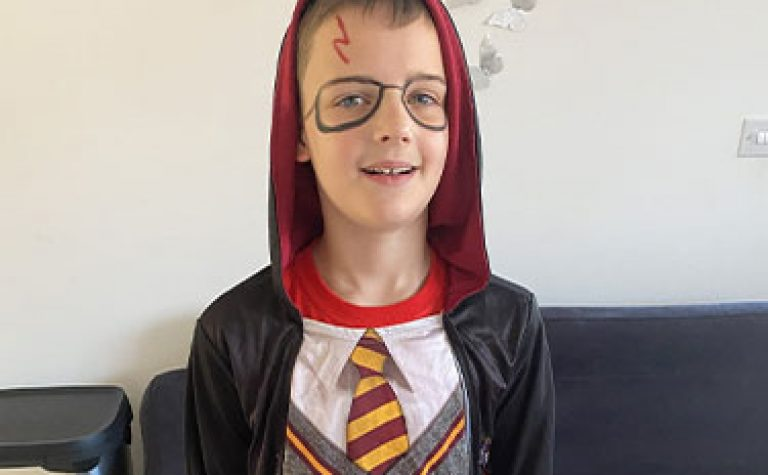 Kodie as harry potter