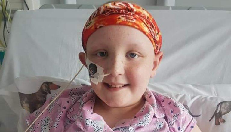 Emmy in hospital