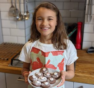 Phoebe at the Children with Cancer UK virtual baking party (4)