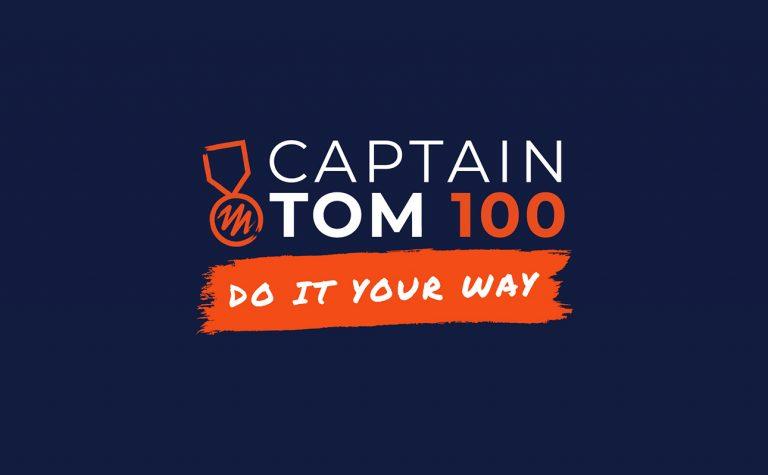 Captain Tom centralised banner image logo