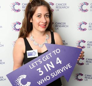 penny volunteering for cancer research uk