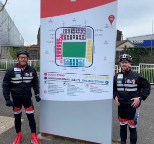 The Orchard brothers cycling challenge