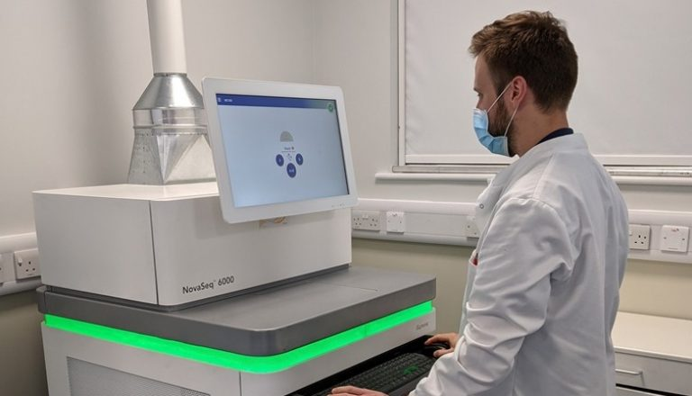 The NovaSeq 6000 in situ at the West Midlands Regional Genetics Laborato... Cropped